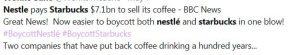 Starbucks Nestle agreement